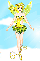 Spring Fairy dress up