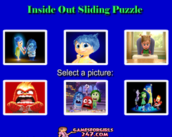 Inside Out Sliding Puzzle