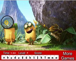 Minions Hidden Letters