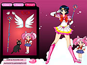 Sailor Moon Dressup
