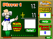 Two Player Math Game