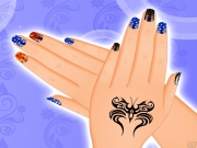 Finger Nail Decoration