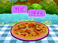 Fish Pizza