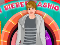 Justine Bieber Fashion Week